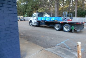 Ceramic Tile Being Delivered